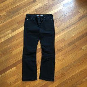 Merona Boot Cut Black Jeans size 14 Lone - Fit 4
